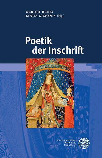 Cover-Bild Poetik der Inschrift