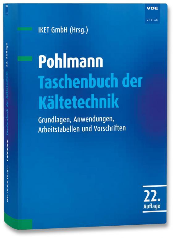 Cover-Bild Pohlmann Taschenbuch der Kältetechnik