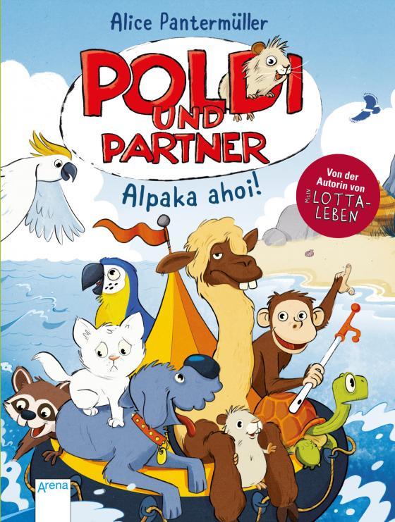 Cover-Bild Poldi und Partner (3). Alpaka ahoi!