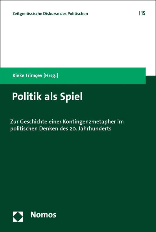Cover-Bild Politik als Spiel