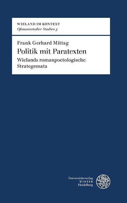 Cover-Bild Politik mit Paratexten