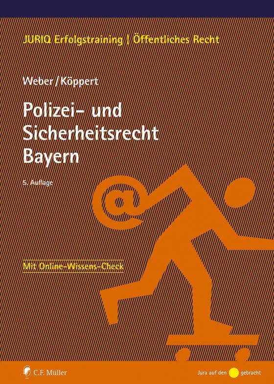 Cover-Bild Polizei- und Sicherheitsrecht Bayern