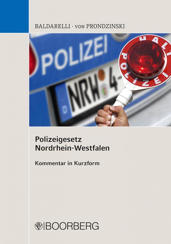 Cover-Bild Polizeigesetz Nordrhein-Westfalen