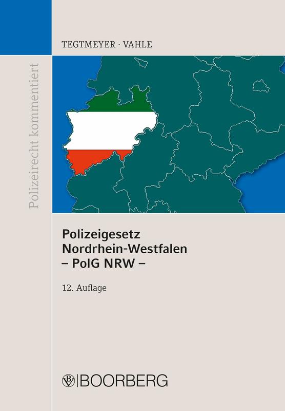 Cover-Bild Polizeigesetz NRW