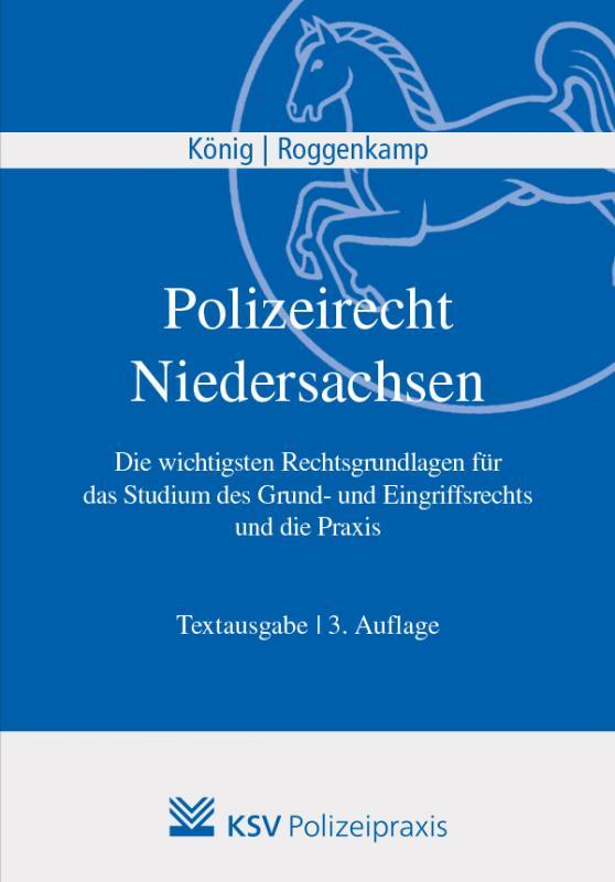 Cover-Bild Polizeirecht Niedersachsen