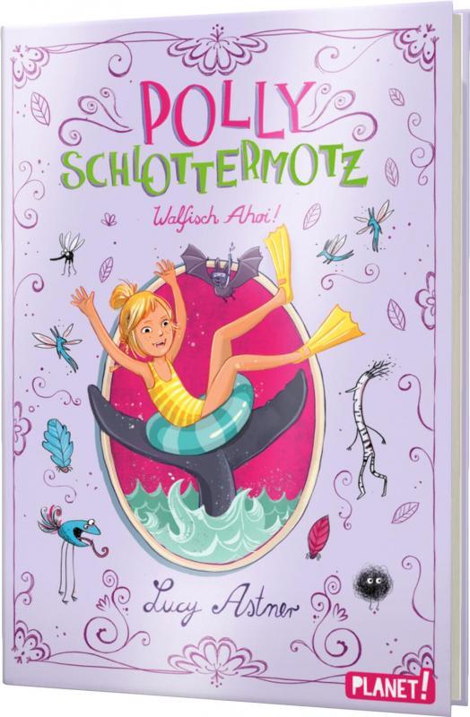 Cover-Bild Polly Schlottermotz 4: Walfisch Ahoi!