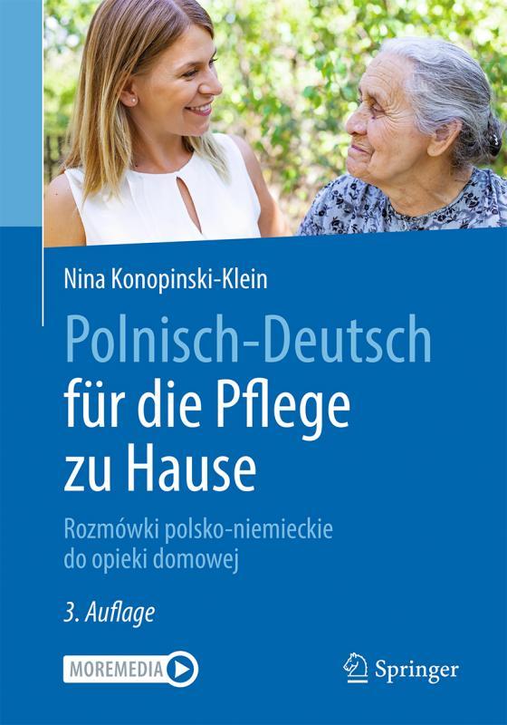 Cover-Bild Polnisch-Deutsch für die Pflege zu Hause