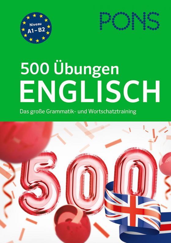 Cover-Bild PONS 500 Übungen Englisch