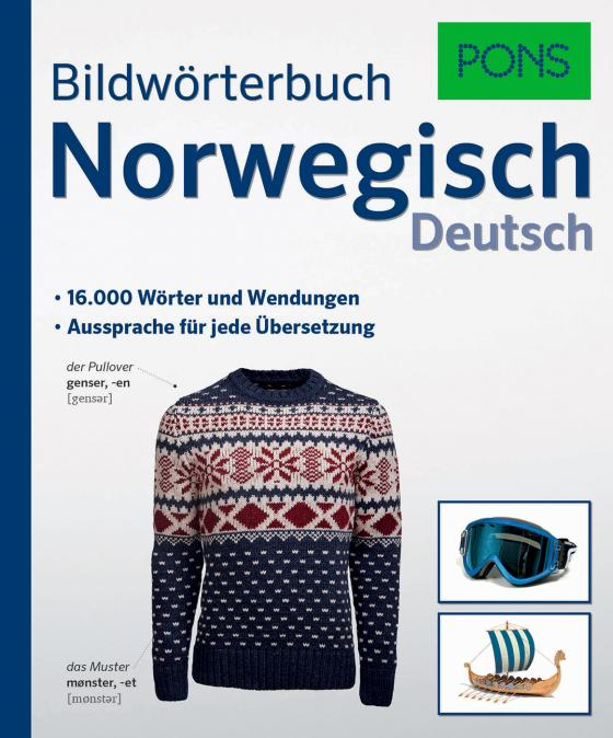 Cover-Bild PONS Bildwörterbuch Norwegisch