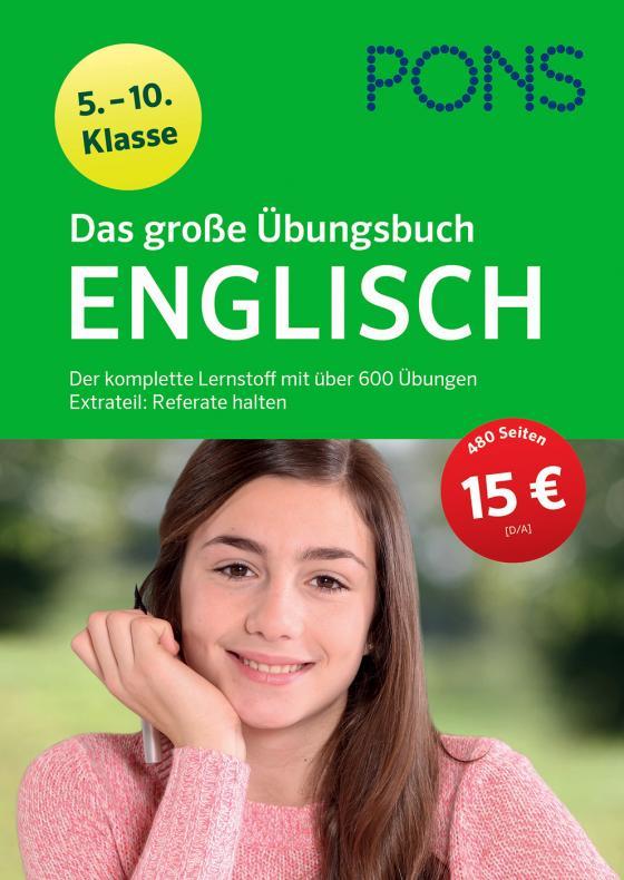 Cover-Bild PONS Das große Übungsbuch Englisch 5.-10. Klasse