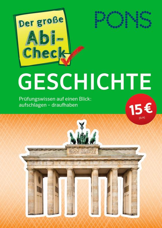 Cover-Bild PONS Der große Abi-Check Geschichte