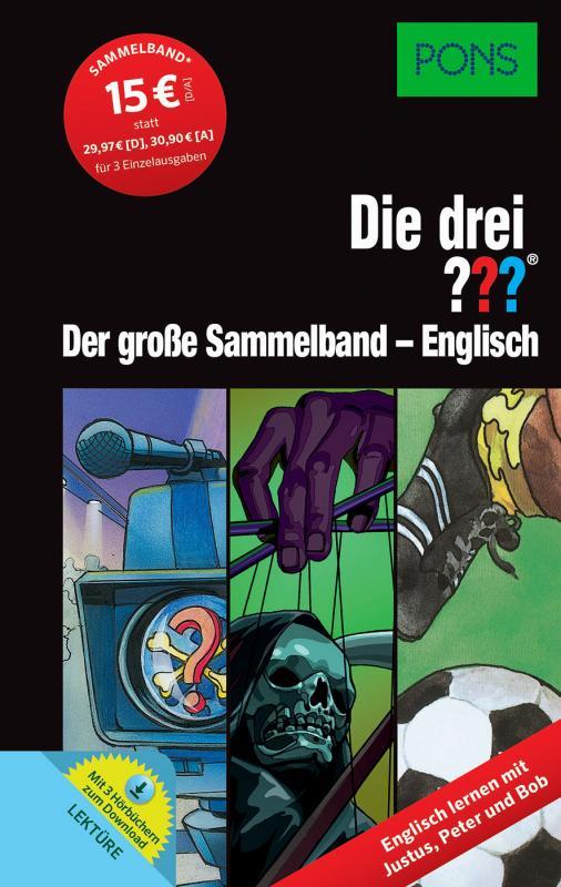 Cover-Bild PONS Die drei ??? Der große Sammelband - Englisch