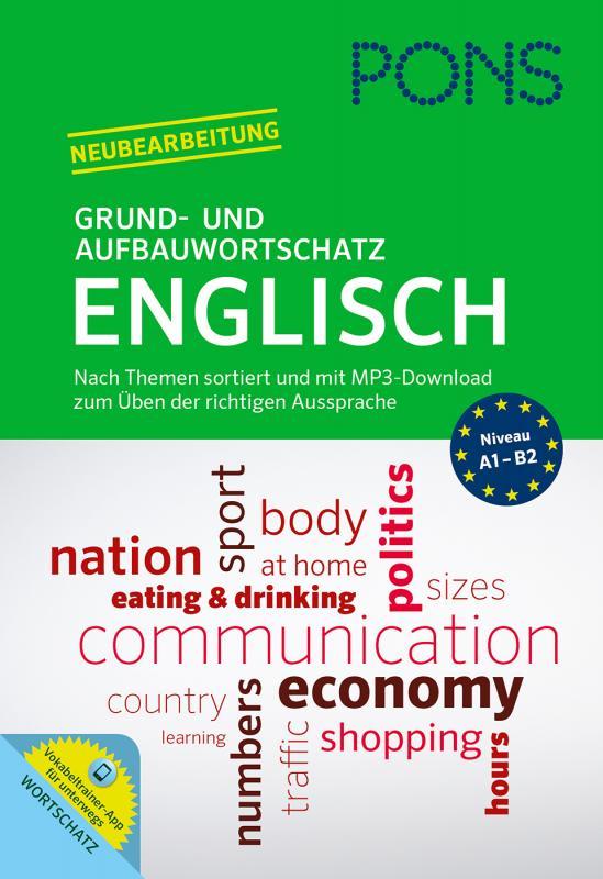 Cover-Bild PONS Grund- und Aufbauwortschatz Englisch