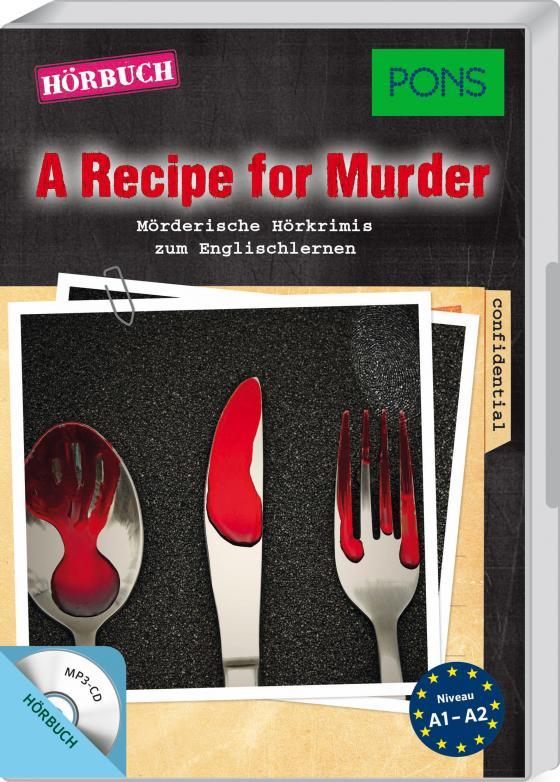 Cover-Bild PONS Hörkrimi Englisch - A Recipe for Murder