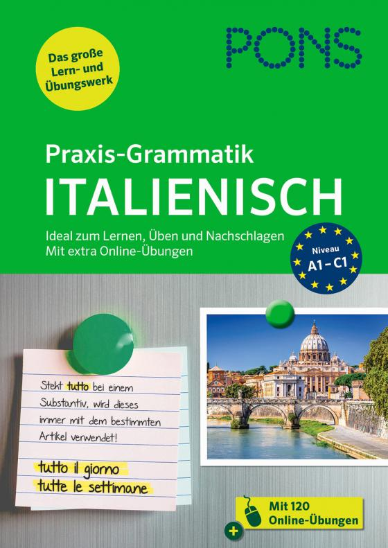 Cover-Bild PONS Praxis-Grammatik Italienisch