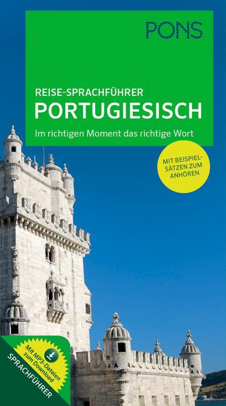 Cover-Bild PONS Reise-Sprachführer Portugiesisch