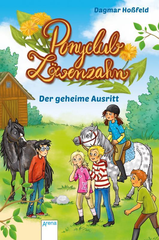 Cover-Bild Ponyclub Löwenzahn (4). Der geheime Ausritt
