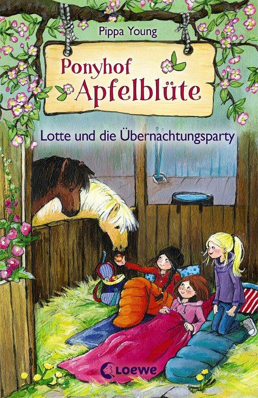 Cover-Bild Ponyhof Apfelblüte - Lotte und die Übernachtungsparty