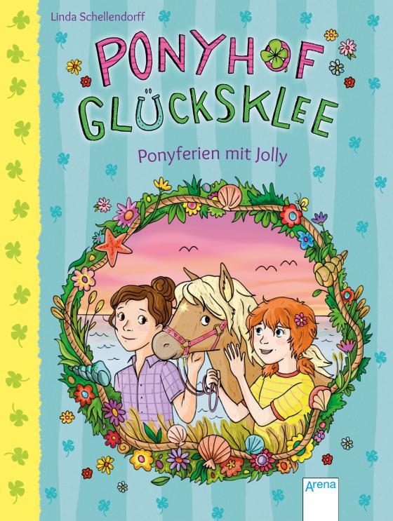 Cover-Bild Ponyhof Glücksklee (4). Ponyferien mit Jolly
