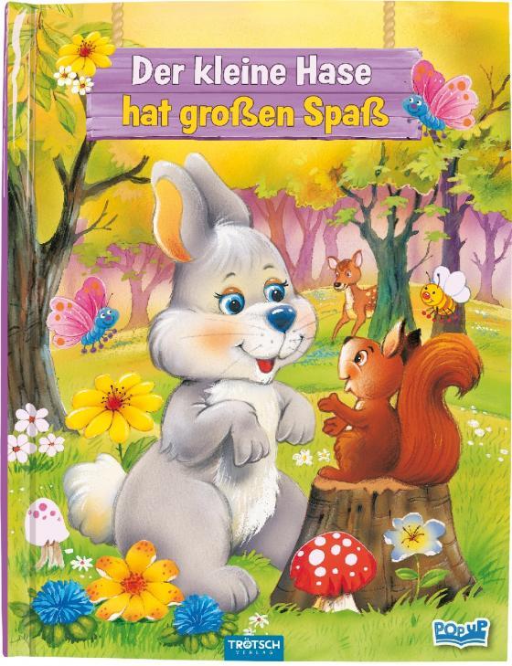 """Cover-Bild Pop-Up-Buch """"Der kleine Hase hat großen Spaß"""""""