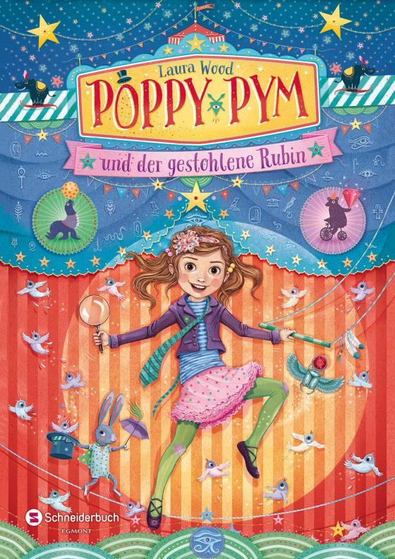 Cover-Bild Poppy Pym und der gestohlene Rubin