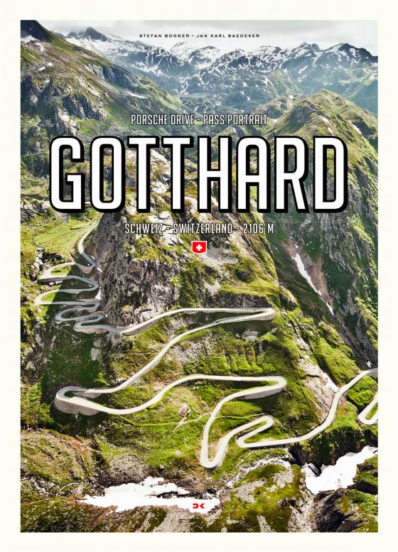 Cover-Bild Porsche Drive – Pass Portrait – Gotthard