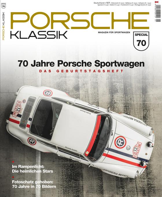 Cover-Bild PORSCHE KLASSIK Special - 70 Jahre Porsche Sportwagen