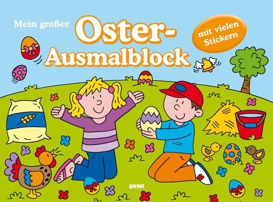 Cover-Bild Poster Malbücher Ostern