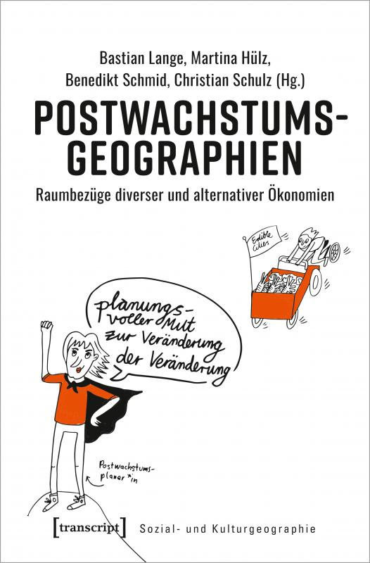 Cover-Bild Postwachstumsgeographien