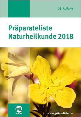 Cover-Bild Präparateliste Naturheilkunde 2018