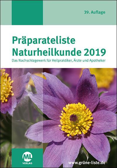 Cover-Bild Präparateliste Naturheilkunde 2019