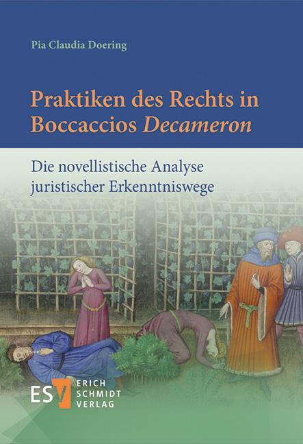 Cover-Bild Praktiken des Rechts in Boccaccios 'Decameron'