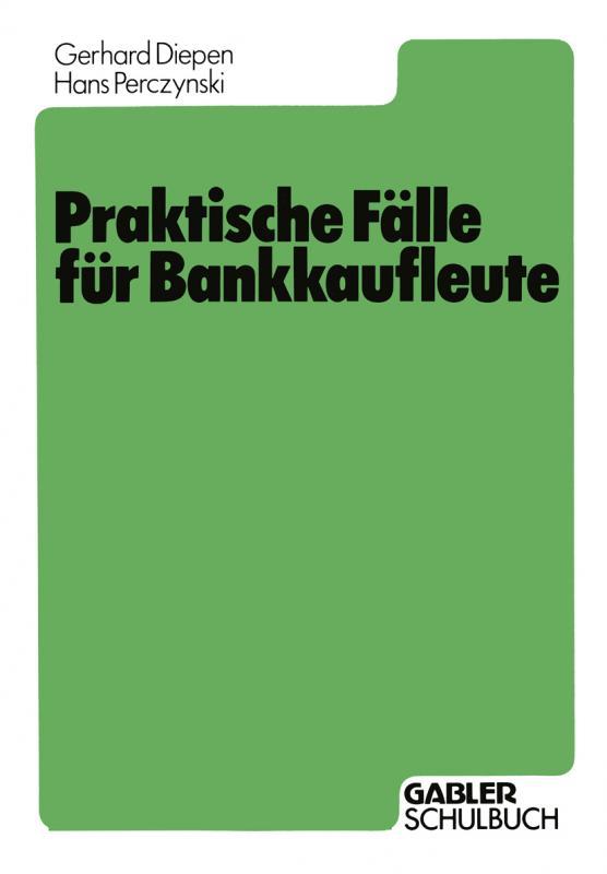 Cover-Bild Praktische Fälle für Bankkaufleute