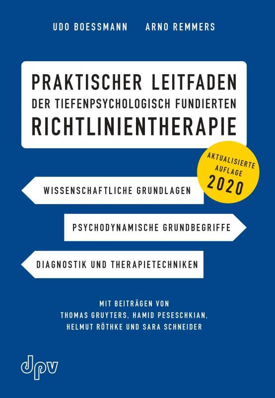 Cover-Bild Praktischer Leitfaden der tiefenpsychologisch fundierten Richtlinientherapie