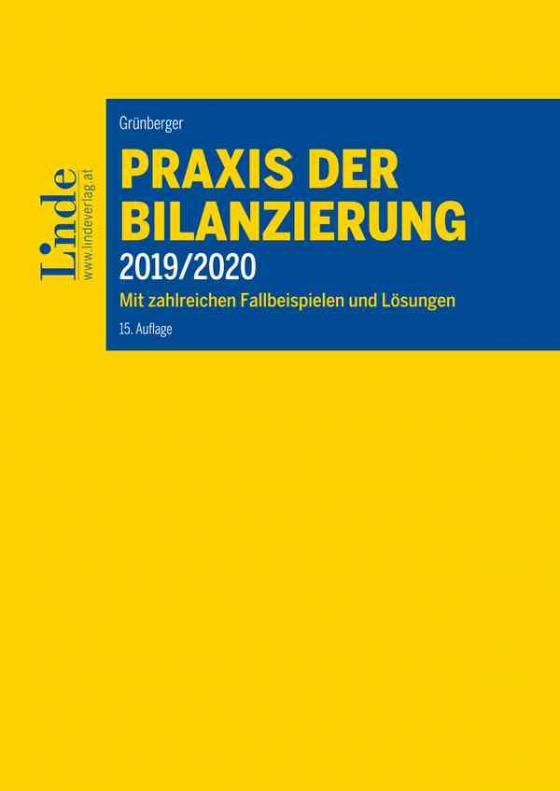 Cover-Bild Praxis der Bilanzierung 2019/2020