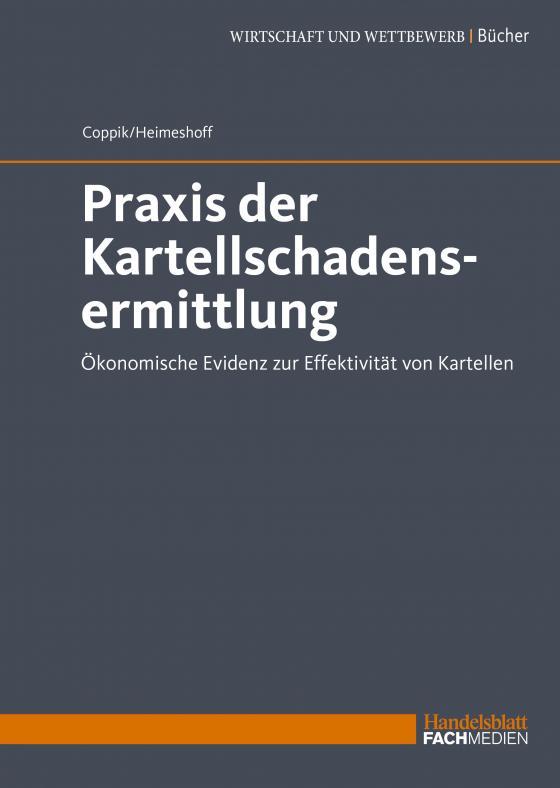 Cover-Bild Praxis der Kartellschadensermittlung