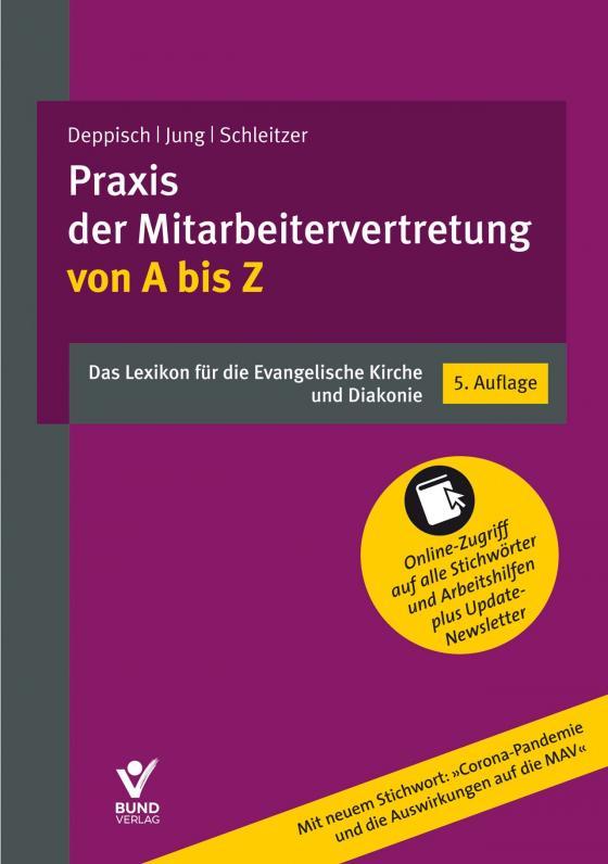 Cover-Bild Praxis der Mitarbeitervertretung von A bis Z