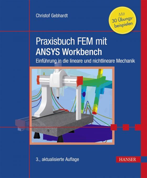 Cover-Bild Praxisbuch FEM mit ANSYS Workbench