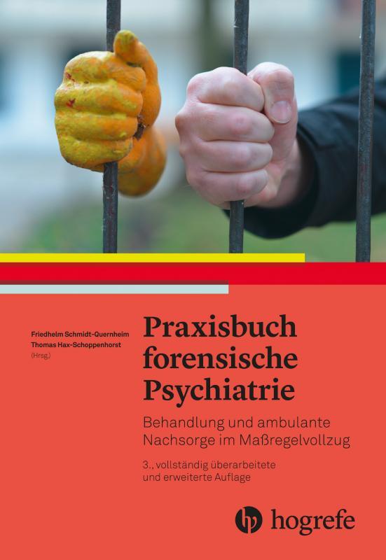 Cover-Bild Praxisbuch forensische Psychiatrie