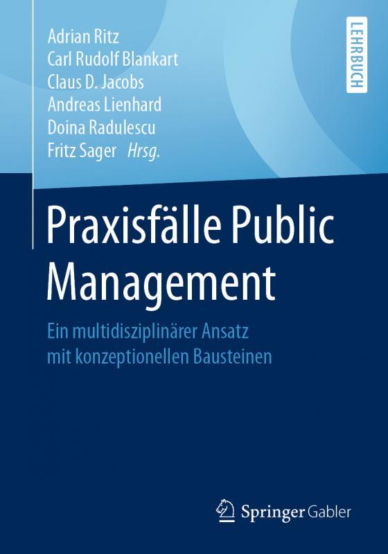 Cover-Bild Praxisfälle Public Management