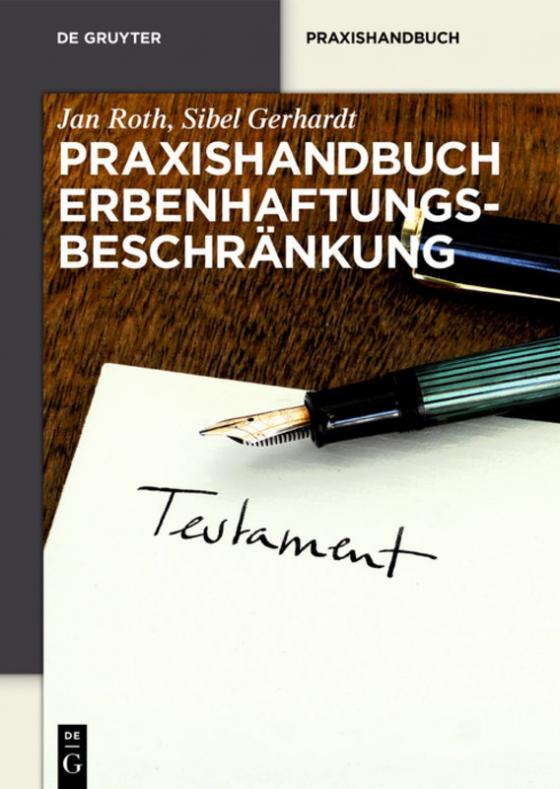 Cover-Bild Praxishandbuch Erbenhaftungsbeschränkung