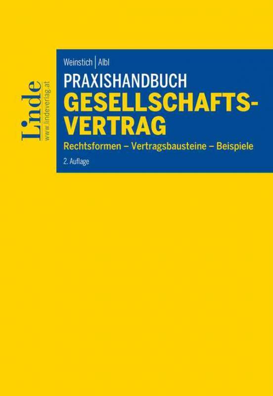 Cover-Bild Praxishandbuch Gesellschaftsvertrag