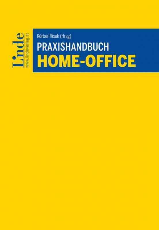 Cover-Bild Praxishandbuch Home-Office