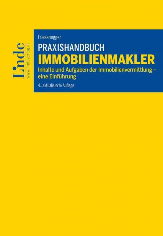 Cover-Bild Praxishandbuch Immobilienmakler