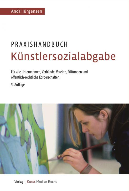 Cover-Bild Praxishandbuch Künstlersozialabgabe
