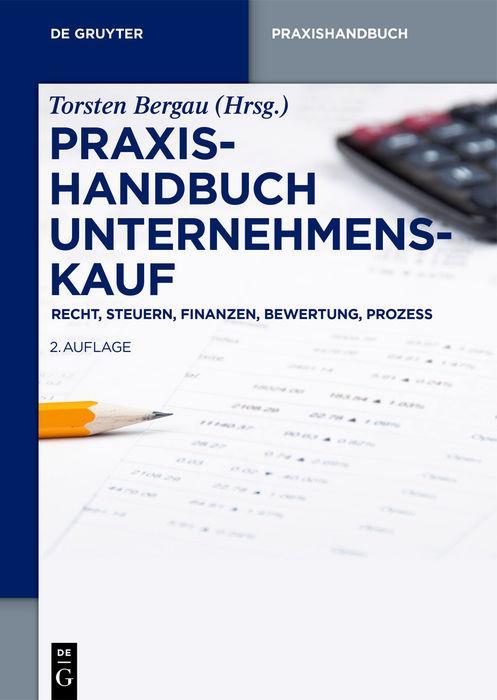 Cover-Bild Praxishandbuch Unternehmenskauf