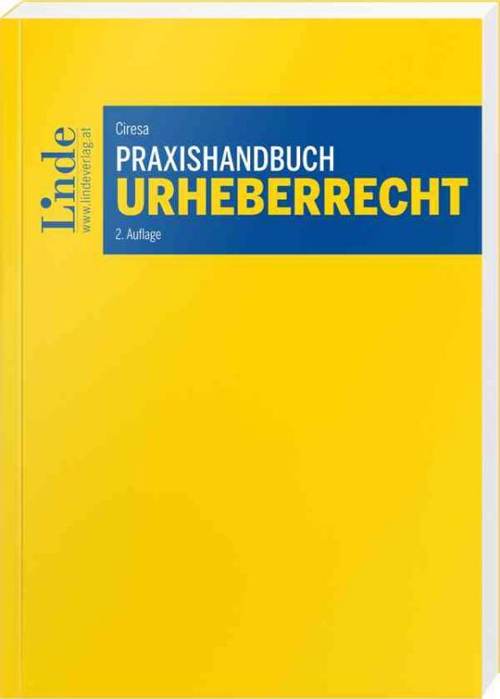 Cover-Bild Praxishandbuch Urheberrecht