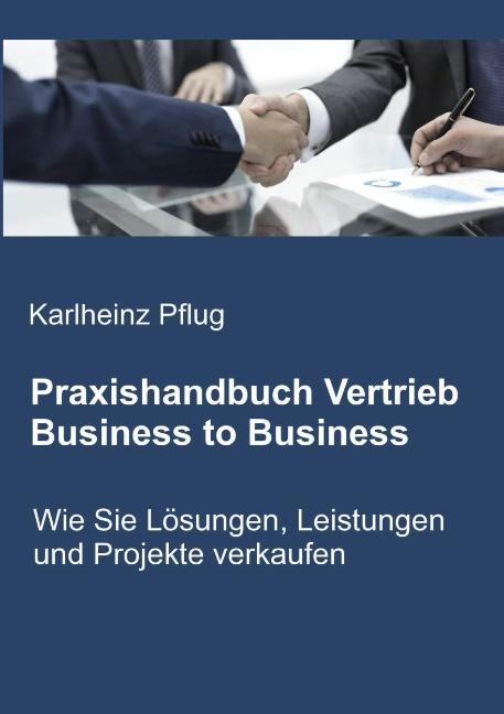 Cover-Bild Praxishandbuch Vertrieb Business to Business