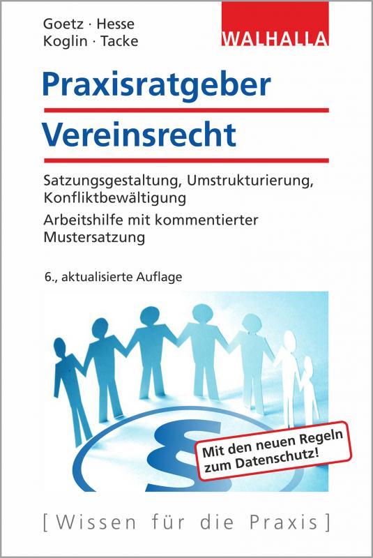 Cover-Bild Praxisratgeber Vereinsrecht