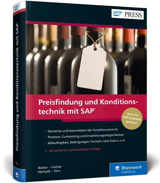 Cover-Bild Preisfindung und Konditionstechnik mit SAP